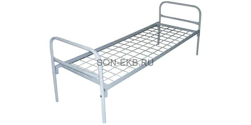 Металлические кровати: одно- и двухъярусные